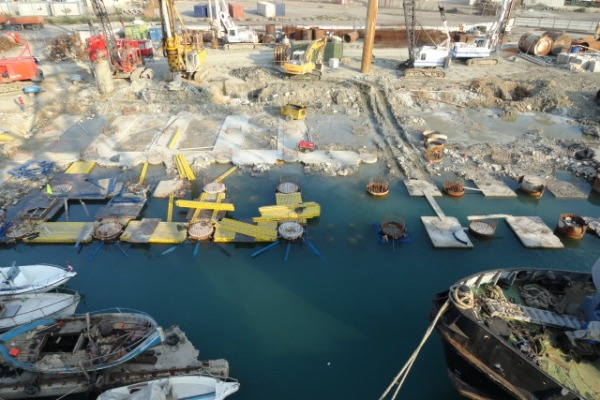 Construction / Rehabilation of quay 10 – ML, At Durres Port